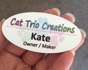 Personalized Name Badges and Tags - Quantity Discounts!
