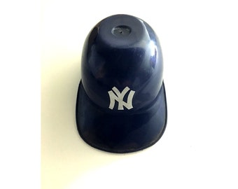 MIniature New York Yankees Batting Helmet 5 by 2 1/2 Inches