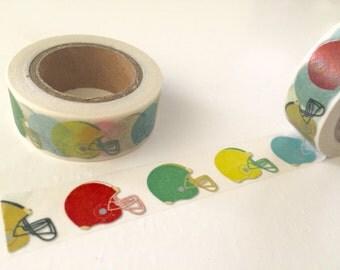 Football Helmet Washi Tape