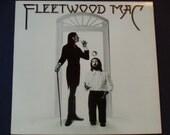 "Fleetwood Mac w/ lyric sheet - ""Say You Love Me"" - ""Monday Morning"" - ""Over My Head"" - Original Reprise 1975 - Vintage Vinyl LP Record Album"