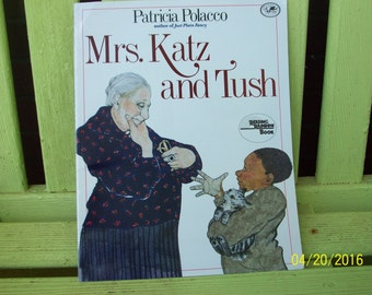 Mrs. Katz and Tush, Written and Illustrated by Patricia Polacco, Reading Rainbow Book