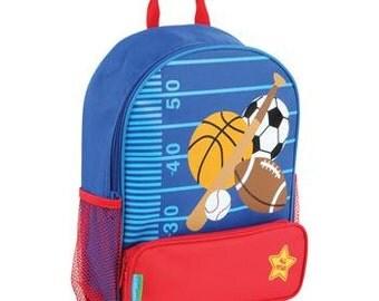 Personalized Stephen Joseph Sidekick backpack Sports