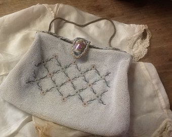 Vintage Walborg Made in France Beaded Purse