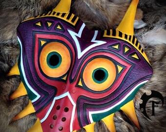 Majora's Mask, leather, cuir, legendofzelda, zelda, cosplay, fantasy, cuir, costume, larp, larping, masquarade,