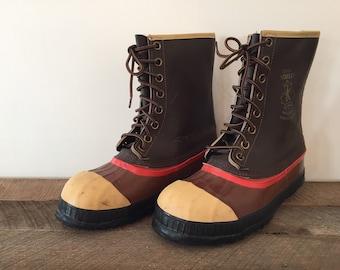 Vintage SOREL Sentry Boots / Men's 8, Women's 10 / Winter Boots