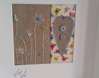 Handmade fabric picture