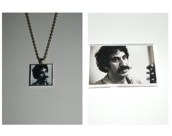 Jim Croce  Glass Pendant Necklace or Magnet