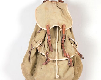 1950's french backpack