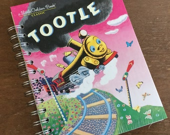 Tootle Little Golden Book Recycled Journal Notebook