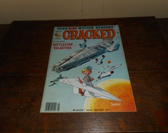 May 1979 Cracked Magazine BATTLESTAR GALACTICA issue Space Sci-Fy