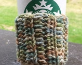 crocheted coffee cup cozy-sleeve