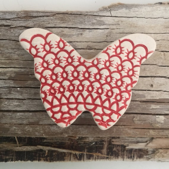 Handmade ceramic textured...