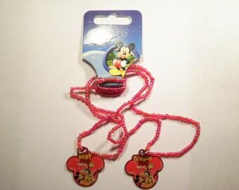 1 Set of Disney Best Friends Necklaces