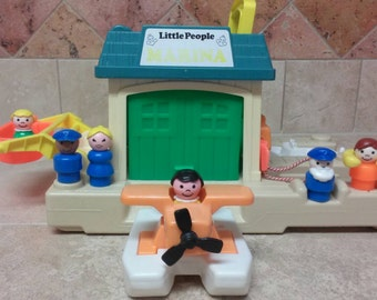Fisher Price Little People Floating Marina