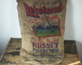 Lakeland Brand Potato Sack Bag