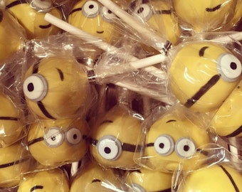 Cake Pops - Minions