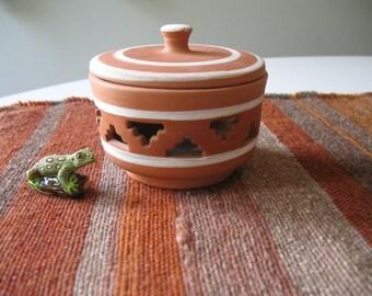 Cone Incense Burner - Terracotta - Southwest Desert