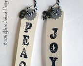 Peace and Joy Gift Tags