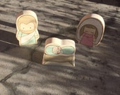 MinnieFolk Nativity Set