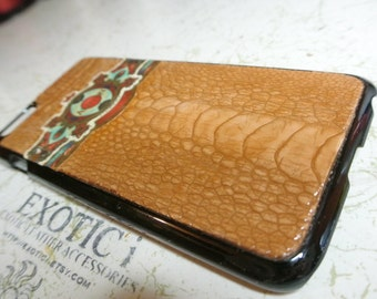 Custom Made iPhone 6s and 6s plus Cigar Band Case