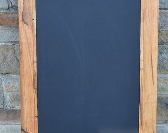 """Maple BARNWOOD CHALKBOARD 20"""" x 30""""  Reclaimed from 150 year old barn! / Handcrafted! #16JCH10"""