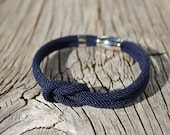 Reserved listing for Laura - Square Knot Bracelet - Ahoy