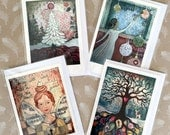 Soulful Christmas cards -  BIG DOUBLE luxury cards