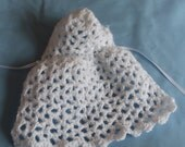 Lacey Hooded Cape- PDF pattern