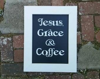 Jesus, Grace & Coffee