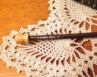 Size J Tunisian Crochet Hook - Laurel Hill Forest Palm Exotic Wood Tunisian Crochet Hook Size J/6.00 mm mm