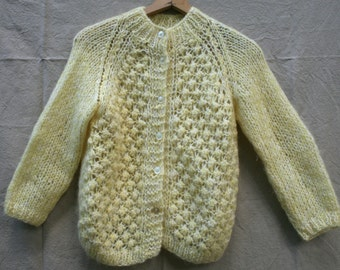 Hand Knit Woman's Cardigan -  Made in Italy