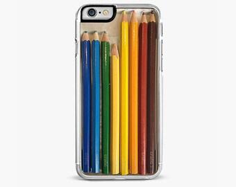 Color Pencils iPhone 7 Case, iPhone 7 Plus Case, Artist iPhone Case, iPhone 6s case, iPhone 6 plus cover