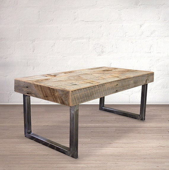 Reclaimed Wood And Metal Coffee Table: Reclaimed Wood Coffee Table By AtlasWoodCo On Etsy