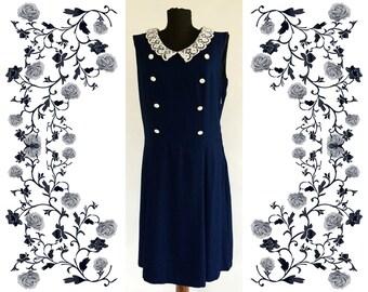 1960's Vintage Deadstock NOS Dress