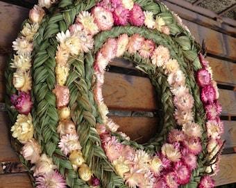 Summer wreath - Home Decor - Spring Wreath - Wedding Wreath