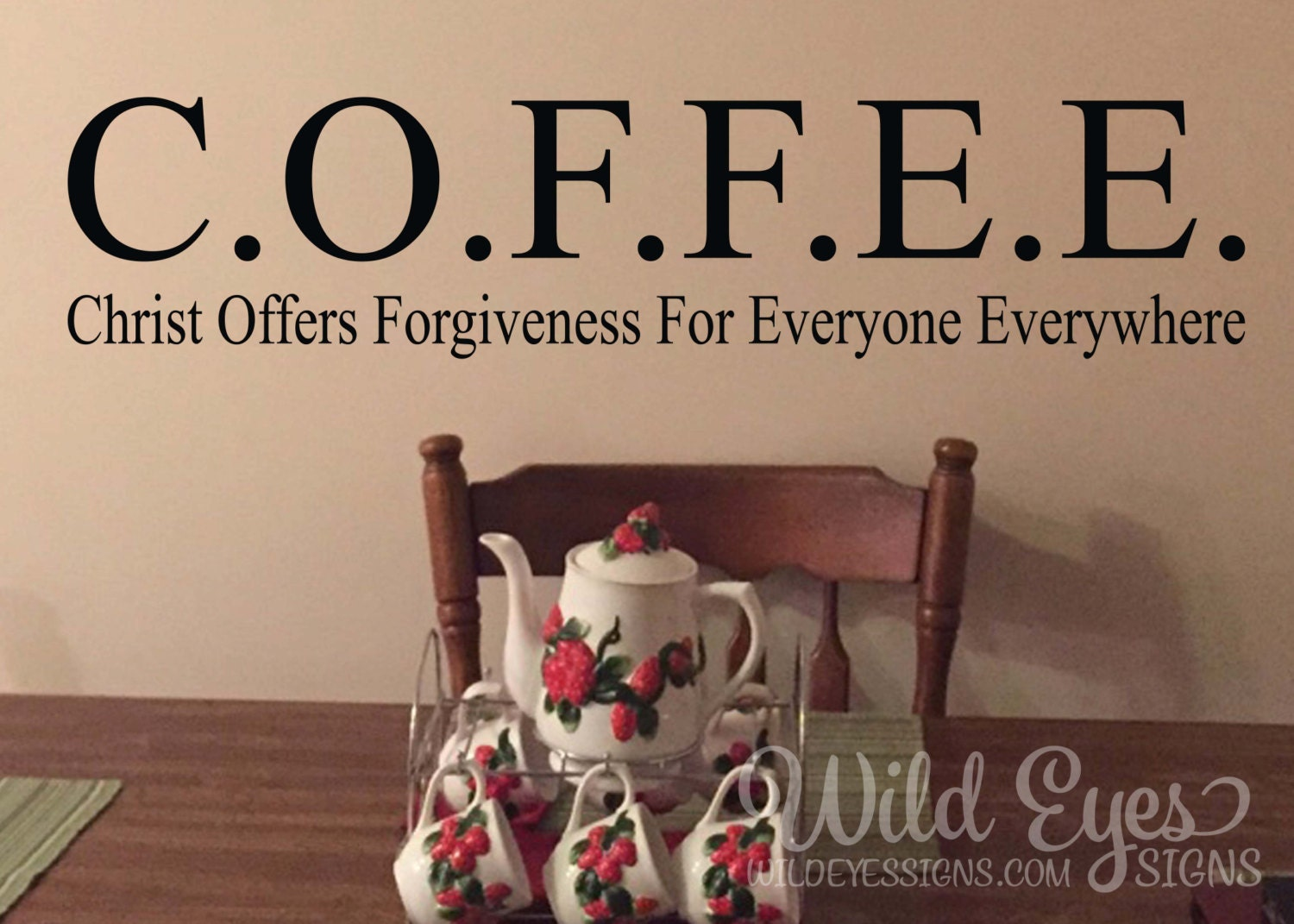 Coffee christ offers forgiveness for everyone everywhere zoom amipublicfo Images