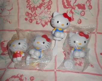 Hello Kitty Cake Topper and Topper/Spoons
