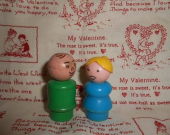 VALENTINE SPECIAL-Fisher Price Man and Lady