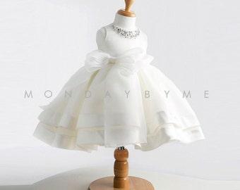 Luxury Dress for baby flower girl party dress