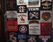 Custom Puzzle T Shirt Quilt for Machaia M. - Final Payment