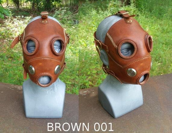 Steampunk/Dieselpunk Gas Mask Prototype Blowout!