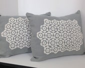 Pair of Linen Pillow cove...