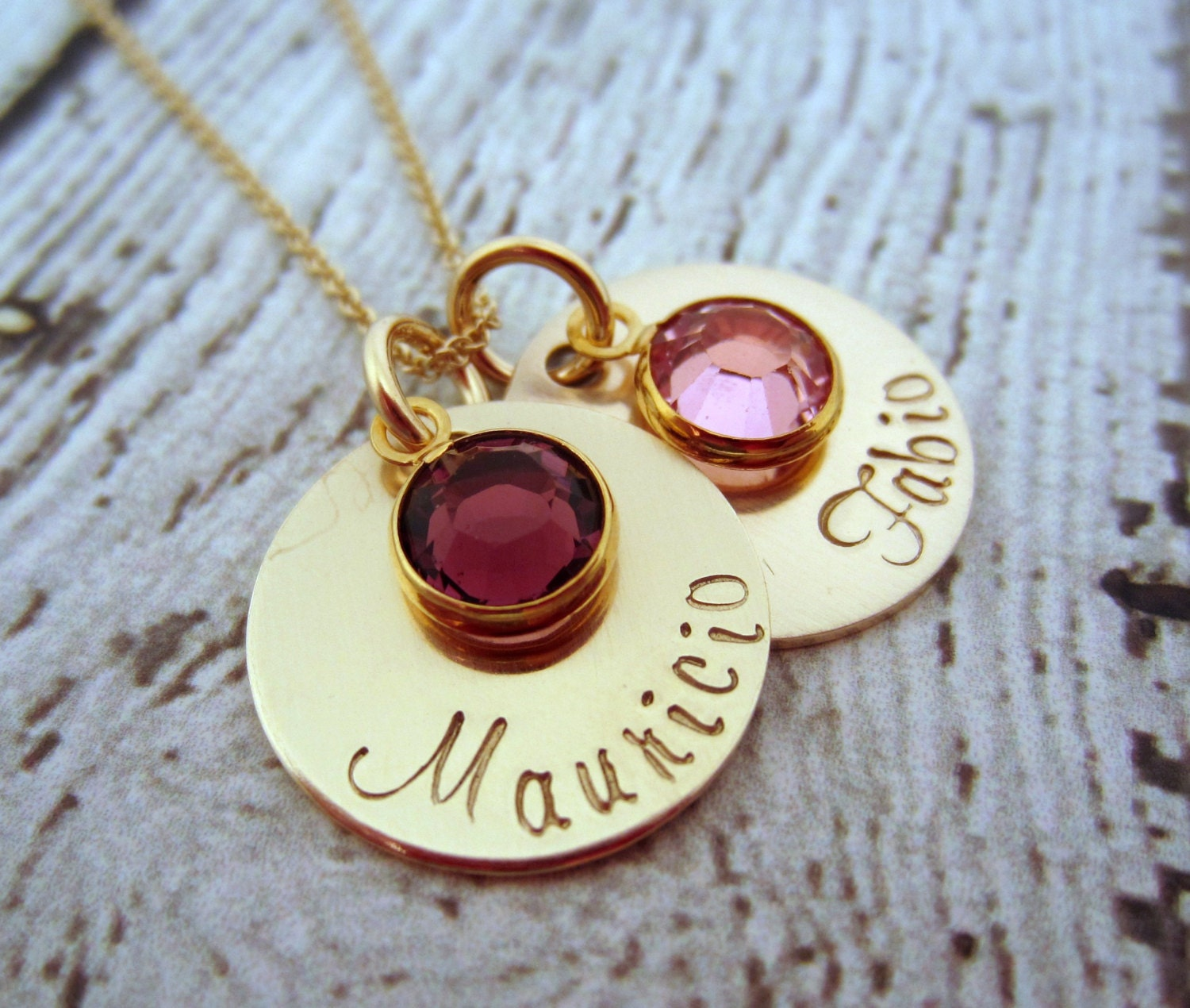 gold mothers necklace gold birthstone necklace birthstone. Black Bedroom Furniture Sets. Home Design Ideas