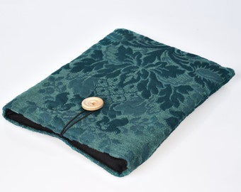 Teal Kindle sleeve, iPad mini sleeve, Kindle Paperwhite sleeve, Kindle Fire case, Kobo case, Nexus 7 sleeve, ipad sleeve, Nook case