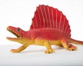 Vintage Dinosaur Toy Dimetrodon Ridged Back 1970s