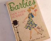 1962 Barbie's New York Summer - Hardback Book Mattel
