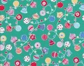 SALE!! Lecien Flower Sugar Holiday 31329 66 - Christmas Fabric - Ornament Fabric - Japanese
