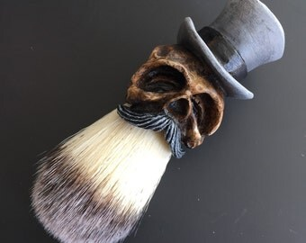 Tophat Shaving Brush (Limited Grey)