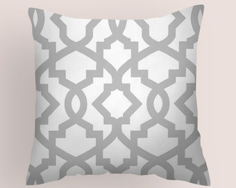 Grey Pillow Cover - Decorative Pillows - Pillows -  Pillow - 8 Sizes Available - Cushion Covers Throw Pillows