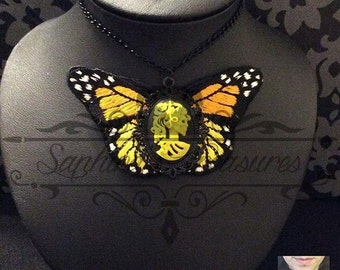Madame Butterfly Necklace